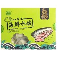 鲁海 海鲜水饺藤椒风味巴沙鱼口味 400g 16只装 *24件