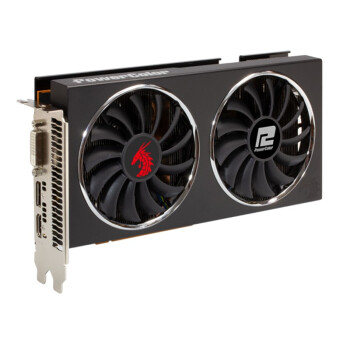 POWERCOLOR 撼讯 RX5700XT Red Dragon 红龙 8G 台式电脑显卡 AMD 8GB 黑色