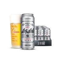 Asahi 朝日啤酒 超爽生啤酒 500ml*18罐