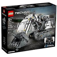 银联专享:LEGO 乐高 机械组 42100 利勃海尔R9800遥控挖掘机