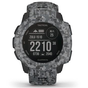 GARMIN 佳明 instinct Tactical 本能战术版智能手表