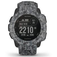 GARMIN 佳明 instinct Tactical 本能戰術版智能手表 迷彩黑