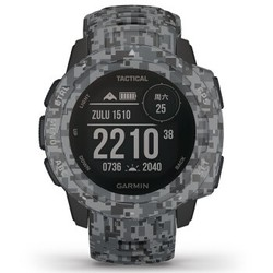 GARMIN 佳明 instinct Tactical 本能战术版智能手表 迷彩黑