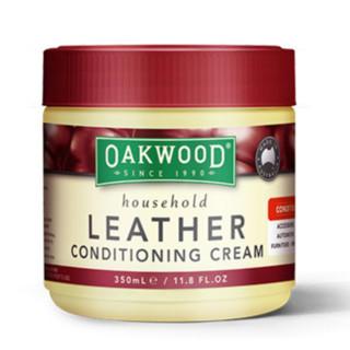 Oakwood 皮革清洁膏 保养油 350ml 3瓶