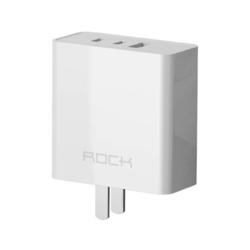 ROCK 洛克 RH-PD65W 氮化镓GaN 65W 2C1A 充电器