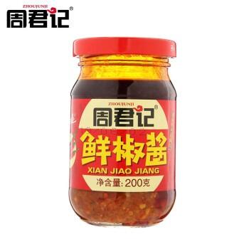 周君记 即食下饭菜酱辣椒酱 200g