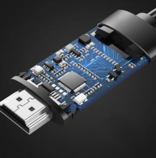 NOHON 诺希 LH02 视频线 Type-C转HDMI 1.8米 黑色