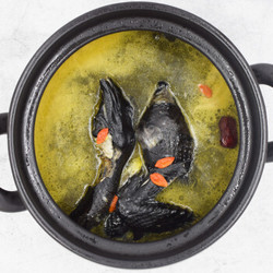 土记 新鲜乌鸡土鸡净重 2斤以上*2件