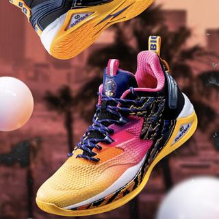 361° 572021115-1 篮球鞋 曜石黑/奇幻紫 41