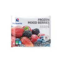 泰蓝thaiblue 冷冻水果混合莓 蓝莓/草莓/黑莓1袋装 净重220g/袋
