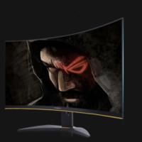 ENVISION 易美逊 P3217GQC 31.5英寸显示器 2K 144hz 1700R 120%sRGB 黑色