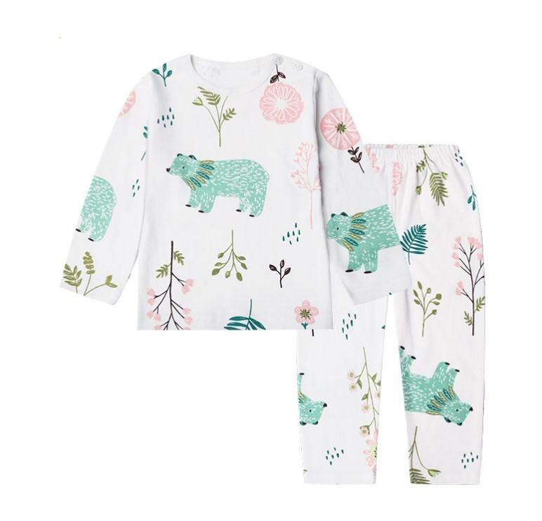 CLASSIC TEDDY 精典泰迪 儿童保暖内衣套装 JDTD0829 森林小熊 80cm