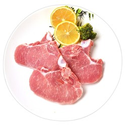 JL 金锣  免切带骨猪排片  1kg