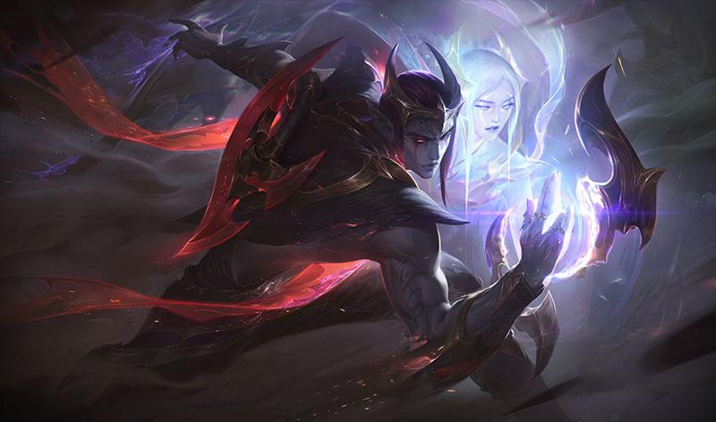 英雄联盟 英雄皮肤 黑夜使者 厄斐琉斯