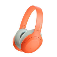 SONY 索尼 WH-H910N 头戴式蓝牙无线耳机 橘色