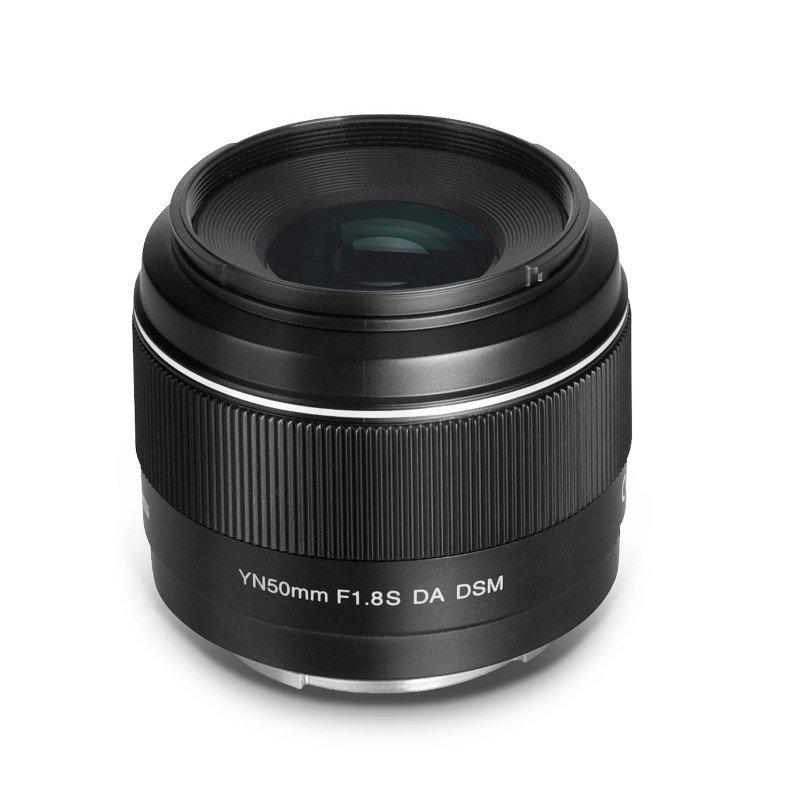 YONGNUO 永诺 YN50mm F1.8S DA DSM 微单镜头 50mm F1.8S APS-C画幅 索尼E卡口 黑色