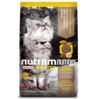京东PLUS会员:nutram 纽顿 低敏系列 加拿大进口全期猫粮 5.45kg