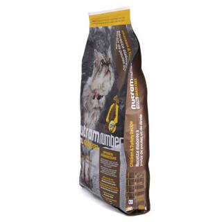 nutram 纽顿 低敏系列 加拿大进口全期猫粮 5.45kg