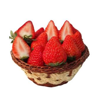 立兴鲜果 牛奶草莓 大果 1.5kg