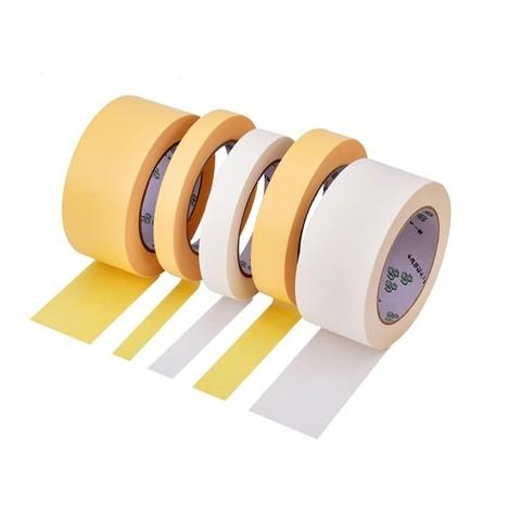OVAL 欧文 美纹纸胶带 黄色耐高温100度 汽车喷漆喷涂手撕下无痕高粘胶布 硅藻泥建筑装修遮蔽美缝美术素描裱美文纸胶带
