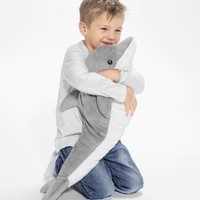 GENOMBLÖT 耶诺布勒 毛绒玩具 - 海豚 - IKEA