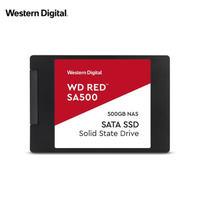 西部数据(Western Digital)500GB SSD固态硬盘SATA3.0接口Red系列网络储存(NAS)硬盘WD Red SA500