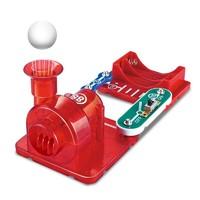 电学小子 电子积木 旋转动力 三合一套装 泡泡机+吸尘器+悬浮球