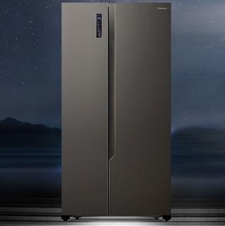 Hisense 海信 BCD-568WFK1DPUQ 对开门冰箱 变频 568L 灰色