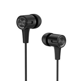 MONSTER 魔声 N-TUNE75 入耳式耳塞式动圈有线耳机 黑色 3.5mm