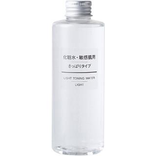 MUJI 无印良品 敏感肌肤 舒柔化妆水 400ml  *3件