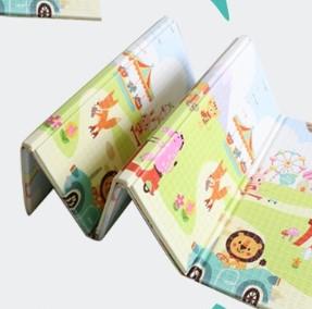 boxbaby XPE折叠爬行垫 动物乐园 (200*150*1cm)