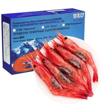 浓鲜时光 即食北极甜虾 1kg