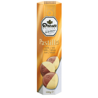 Droste 多利是双色条装巧克力/德菲丝 85%可可黑巧克力等 *10件
