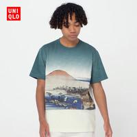 男装/女装 (UT) EDO UKIYO-E 印花T恤(短袖) 425623 优衣库UNIQLO