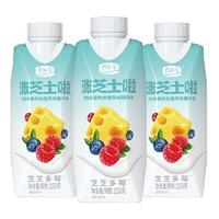 88VIP:JUNLEBAO 君乐宝 涨芝士啦 梦幻盖芝芝多莓酸牛奶 250g*10瓶