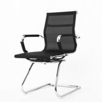 福玺弓形网布电脑椅 家用办公椅 职员会议椅子座椅 靠背升降转椅 弓形脚网布低靠背