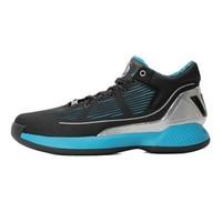 adidas 阿迪达斯 Rose 10 男士篮球鞋 EH2458 1号黑色/银金属/绿松石藍 42
