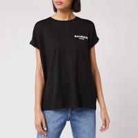银联专享 : BALMAIN 女士短袖T恤