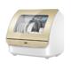 Haier 海尔 小海贝PRO ETBW402GDD 台式洗碗机 6套 1699元包邮(需用券)