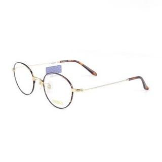 SEIKO 精工 H03091 01 纯钛 男女通用琥珀色复古全框 眼镜架