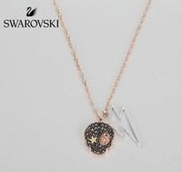 SWAROVSKI 施华洛世奇 5396880 骷髅头锁骨链