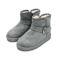 mongdodo 梦多多 儿童雪地靴