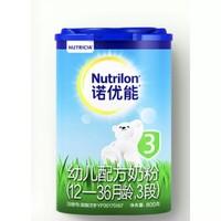 Nutrilon 诺优能 幼儿配方奶粉 中文版 3段 800g 4罐