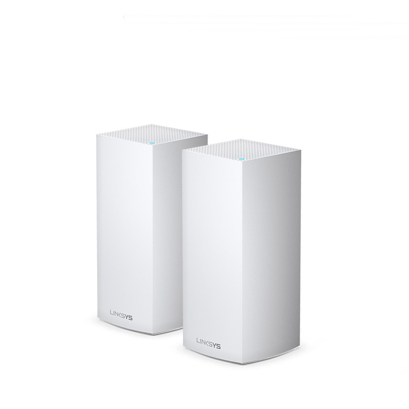 LINKSYS 领势 Velop MX10600 5300M WiFi 6 分布式路由器 白色 两只装