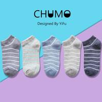 CHUMO 初沫 WZ00107A 纯棉薄款浅口女袜 10双