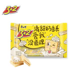 康师傅 3+2苏打夹心饼干蛋糕营养早餐办公室休闲零食小吃香浓奶油400g *9件