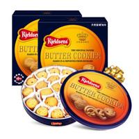 Kjeldsens 丹麦蓝罐 曲奇饼干 600g*2罐