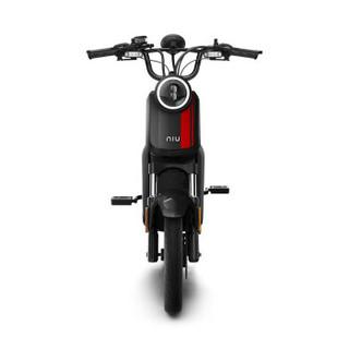 小牛电动车 UQi PRO顶配套装 智能锂电电动踏板车 电动代步自行 黑色 新国标安全版