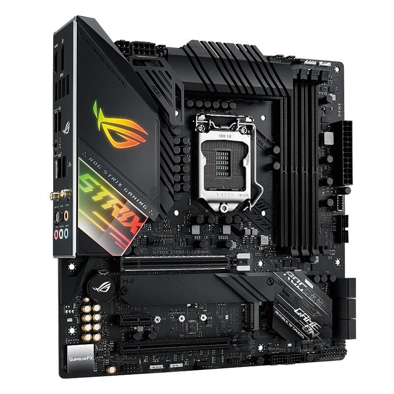 ROG 玩家国度  STRIX Z490-G GAMING(WI-FI)主板 M-ATX(紧凑型) Z490