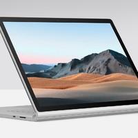 Microsoft 微软 Surface Book 3 13.5英寸笔记本电脑(i5、8GB、256GB)